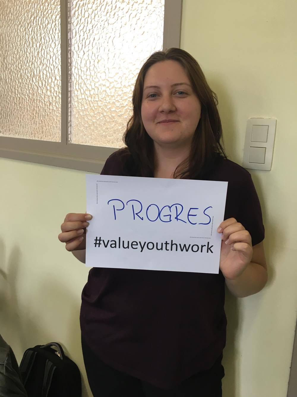 Progress happens through youth work.